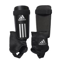 Adidas Field Club Shin Guards - Black/White