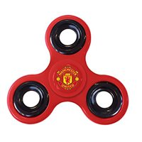 Forever Collectibles Manchester Utd Diztractoz Spinner - Red