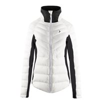 OutHorn Ladies Puffa jacket - White