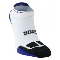 Hilly Twin Skin Socklet - White/Blue/Black