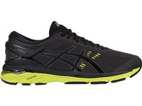 Asics Mens Gel Kayano 24 - Black/Green/White