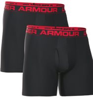 Under Armour BoxerJock 2 Pack Mens - Black