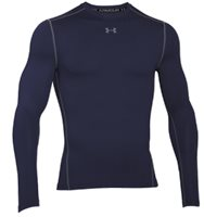 Under Armour Mens Cold Gear Amour Crew Top - Navy