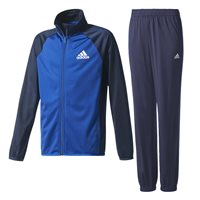 Adidas Boys Entry Tracksuit - Navy/Royal/White