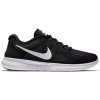Nike Womens Free RN 2017 - Black/White/Dark Grey