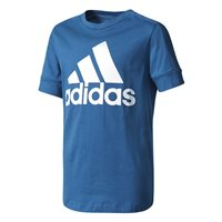 Adidas Boys ID T-Shirt - Blue/White