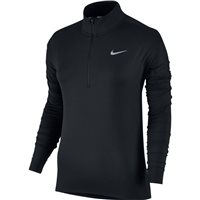 Nike Womens Dry Element Half Zip Top - Black