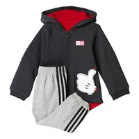 Adidas Infants Disney MM Jogger Set - Grey/Black/Red