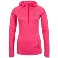 Asics Womens Long Sleeve Running Hoodie - Cosmo Pink