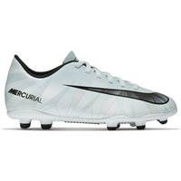 Nike Jr Mercurial Vortex III CR7 FG Firm Ground - Blue Tint/Black/White