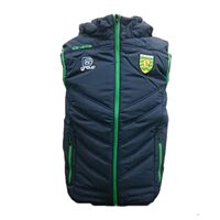 ONeills Donegal GAA Slaney Hooded Gilet - Navy/Emer
