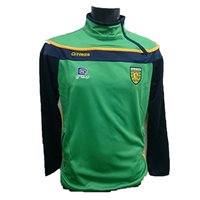ONeills Donegal GAA Slaney SZ Squad Top - Emer/Navy/Amber