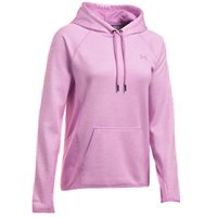 Under Armour Womens Fleece Hoodie - Twist - Pink