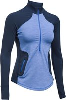 Under Armour Womens Reactor 1/2 Zip Top - Royal