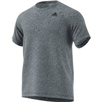 Adidas Mens D2M T-Shirt HT - Grey
