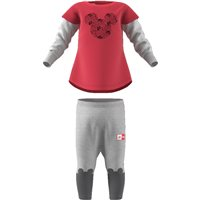 Adidas Little Girls Disney Set - Pink/Grey