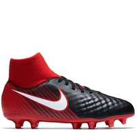 Nike Kids Magista Onda II DF FG - Black/Red/White