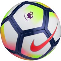 Nike Premier League Pitch Football - White/Volt/Black