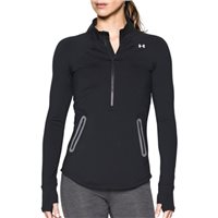 Under Armour Womens Reactor 1/2 Zip Top - Black