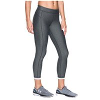 Under Armour Womens HG Ankle Crop Leggings - Grey