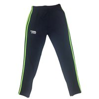 Briga Eske Skinny Training Pants - Navy/Lime