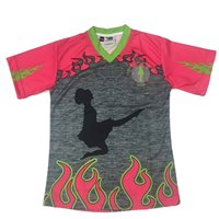 Briga Irish Dancing Jersey 17/18 - Grey/HotPink/FloGreen