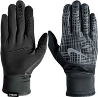 Nike Mens Therma-Fit Elite Run Gloves 2.0 - Grey/Black
