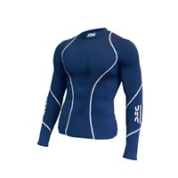 ATAK Sports Compression Shirt - Kids - Navy