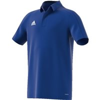 Adidas Condivo18 Polo  - Youth - Bold Blue/Dark Blue/White