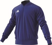 Adidas Condivo18 Poly Jacket - Bold Blue/Dark Blue/White