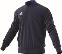 Adidas Condivo18 Poly Jacket - Dark Blue/White