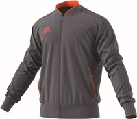 Adidas Condivo18 Poly Jacket - Onix/Orange