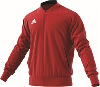 Adidas Condivo18 Poly Jacket - Power Red/Black/White