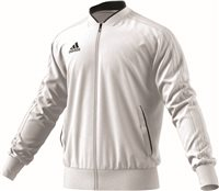 Adidas Condivo18 Poly Jacket - White/Black