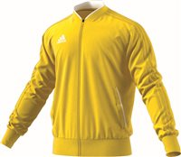 Adidas Condivo18 Poly Jacket - Yellow/White