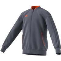 Adidas Condivo18 Poly Jacket - Youth - Onix/Orange