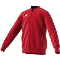 Adidas Condivo18 Poly Jacket - Youth - Power Red/Black/White