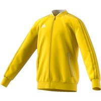 Adidas Condivo18 Poly Jacket - Youth - Yellow/White