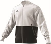Adidas Condivo18 Presentation Jacket - White/Black