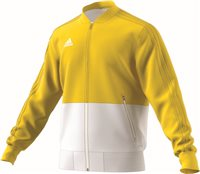 Adidas Condivo18 Presentation Jacket - Yellow/White