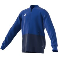 Adidas Condivo18 Presentation Jacket - Youth - Bold Blue/Dark Blue/White