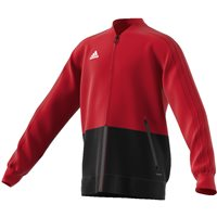 Adidas Condivo18 Presentation Jacket - Youth - Power Red/Black/White