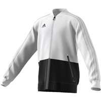 Adidas Condivo18 Presentation Jacket - Youth - White/Black
