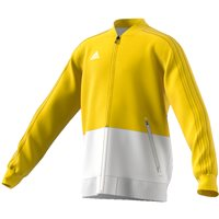 Adidas Condivo18 Presentation Jacket - Youth - Yellow/White