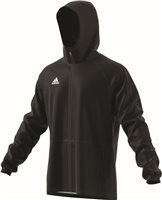 Adidas Condivo18 Rain Jacket - Black/White