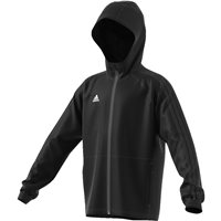 Adidas Condivo18 Rain Jacket - Youth - Black/White