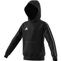 Adidas Core18 Hoody - Youth - Black/White