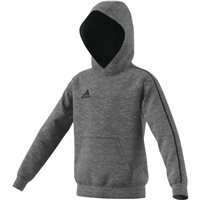 Adidas Core18 Hoody - Youth - Dgreyh/Black