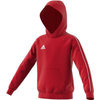 Adidas Core18 Hoody - Youth - Power Red/White