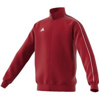 Adidas Core18 Poly Jacket - Youth - Power Red/White